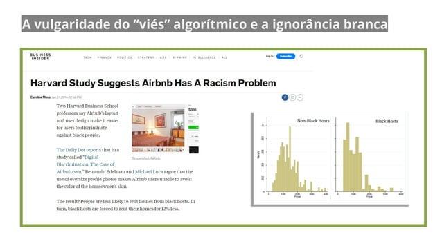 """A vulgaridade do """"viés"""" algorítmico e a ignorância branca"""