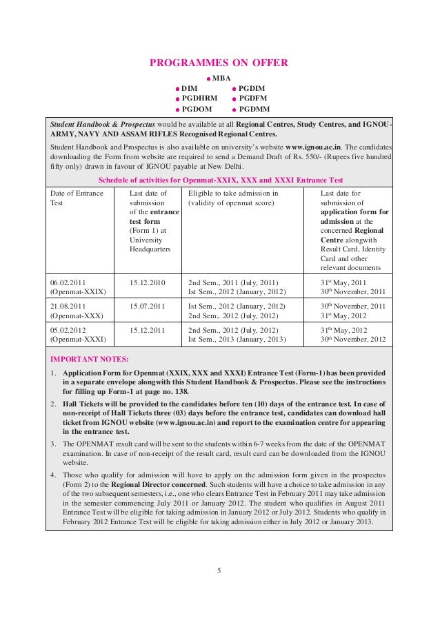 ignou application form for issue of official transcript address