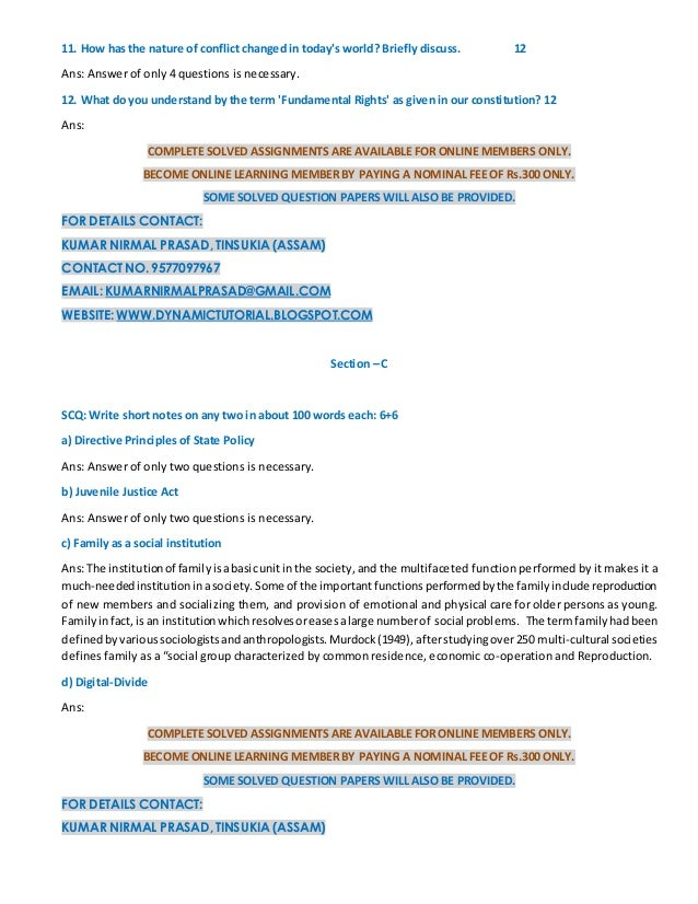 IGNOU BSHF-101 Study Material