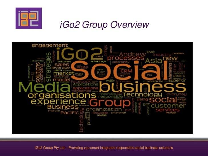 iGo2 Group Overview<br />