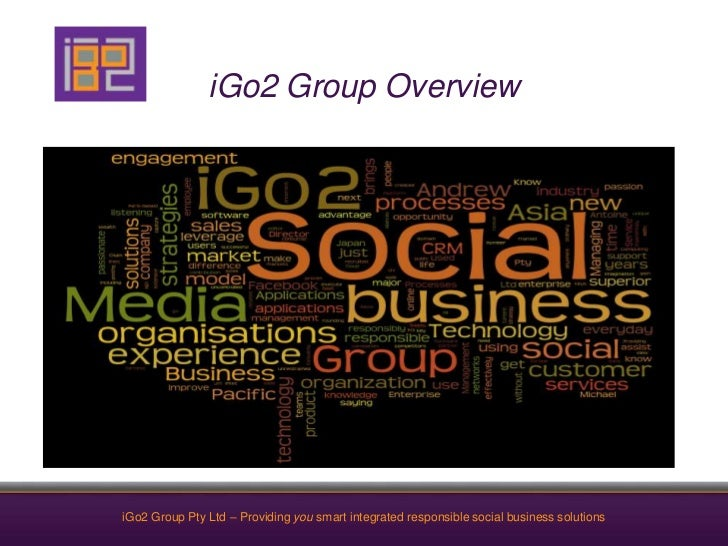 iGo2 Group Overview<br />