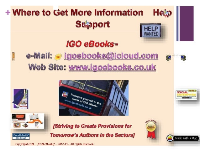 Igo ebooks business strategy plan for authors publishers 67 fandeluxe Images