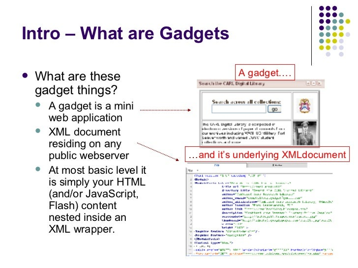 iGoogle Gadgets @ Your Library Slide 3