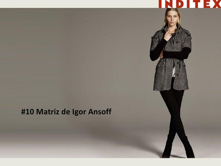 #10 Matriz de Igor Ansoff