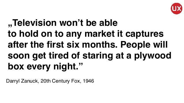 Igor Farafonow - Innowacja w UX – dlaczego się jej boimy i jak może popsuć nam biznes - WUD Trójmiasto 2016 Slide 3