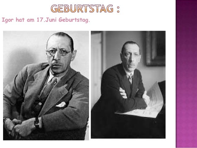 Igor Stravinski  Slide 3