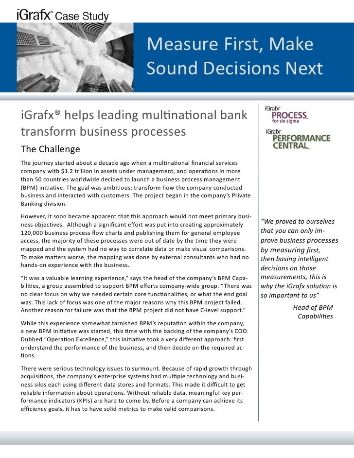 Measure First, Make                                              Sound Decisions NextiGrafx® helps leading multinational b...