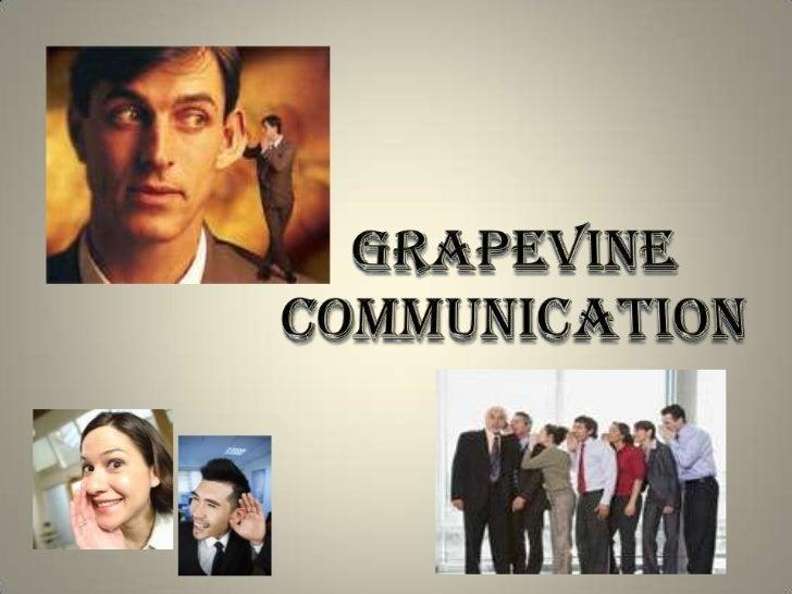 grapvine communication