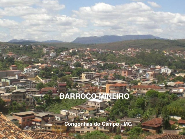 BARROCO MINEIRO Congonhas do Campo - MG
