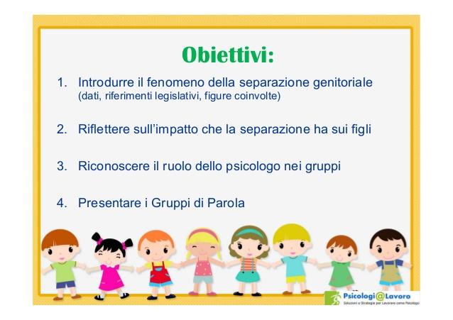 Preferenza I gruppi di parola per figli di genitori separati EC83