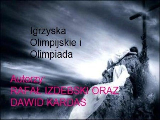 Autor: Rafał Izdebski; Dawid Kardas 1Izdebski; Kardas