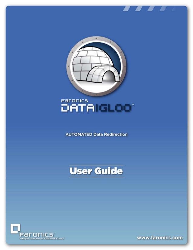 Data Igloo User Guide |1