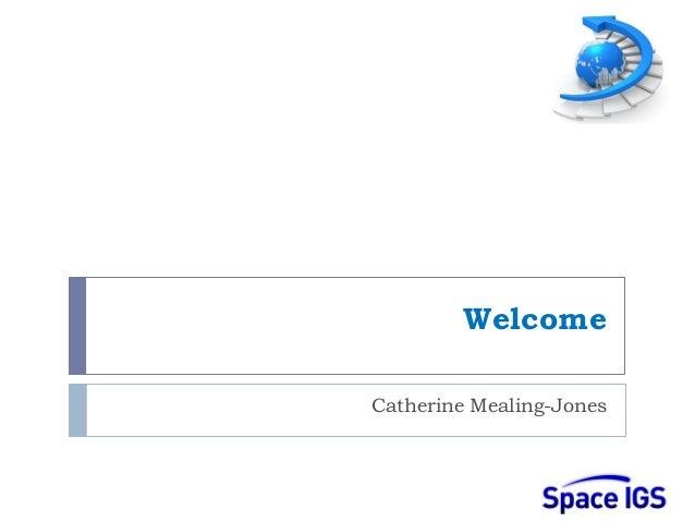 WelcomeCatherine Mealing-Jones