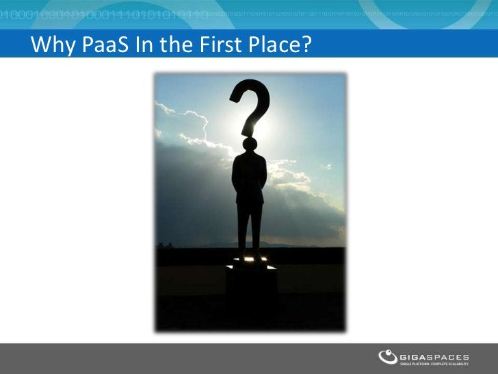 Why PaaS In the First Place?