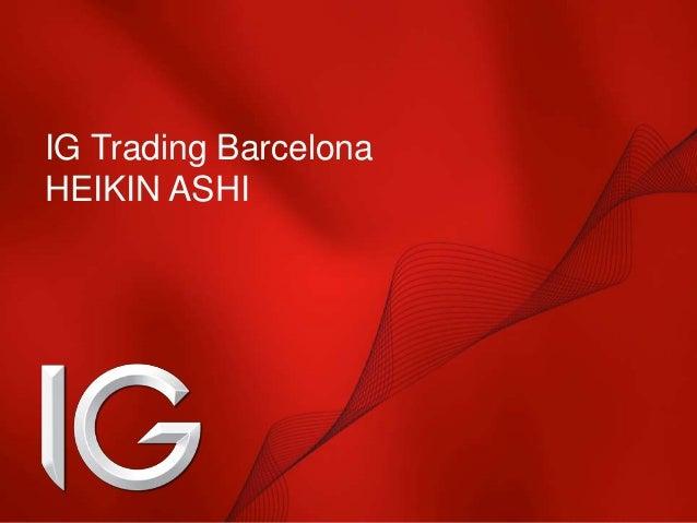 IG Trading Barcelona HEIKIN ASHI