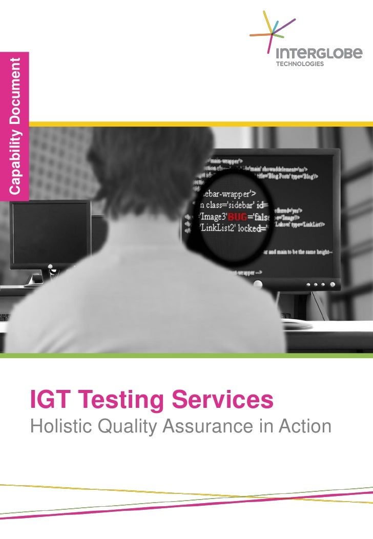IGT Testing Services   INTERGLOBE TECHNOLOGIES   We Understand Travel Business The Way You DoHolistic Quality Assurance in...