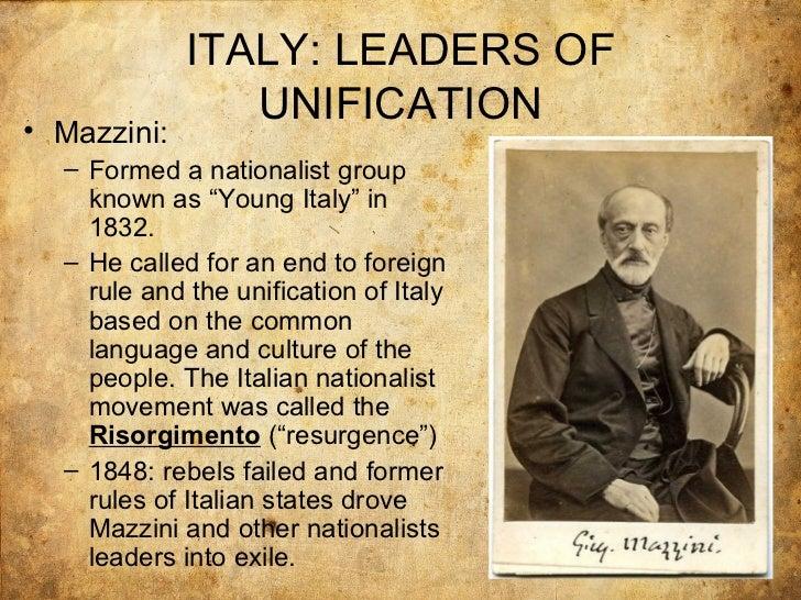 short note on giuseppe mazzini