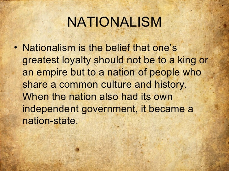 essay nationalism Your nationalism essay sample free example of an essay on nationalism thematic topics and ideas guidelines how to write good academic essays and.