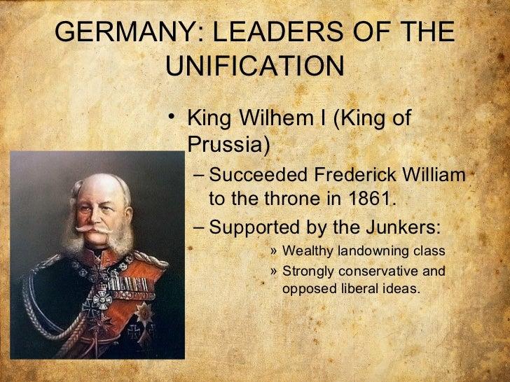 otto von bismarck german unification essay
