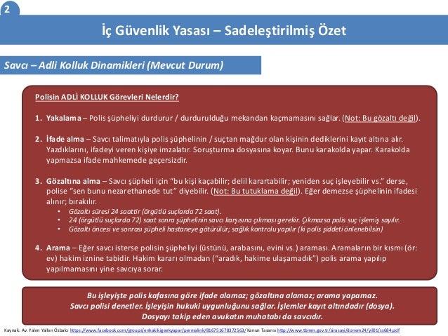 2015 Ic Guvenlik Yasasi - Icerik Ozeti Slide 2