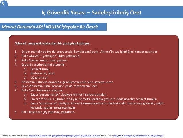 2015 Ic Guvenlik Yasasi - Icerik Ozeti Slide 3