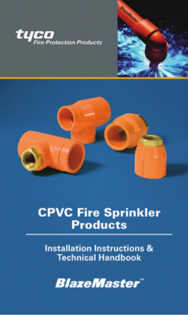 www.Tyco-Fire.com Installation Instructions & Technical Handbook IH-1900MARCH 2015 Copyright © 2015 Tyco Fire Products, LP...