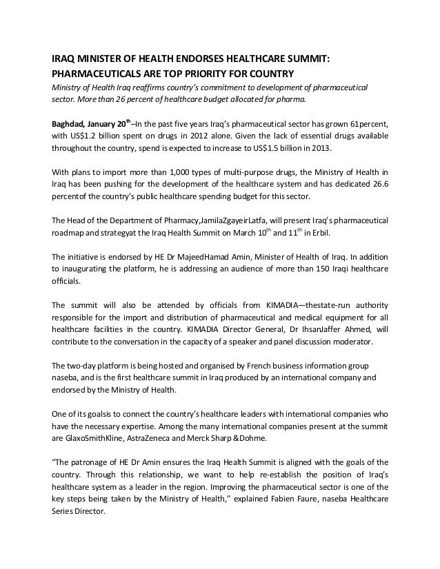 Ih 13 press release