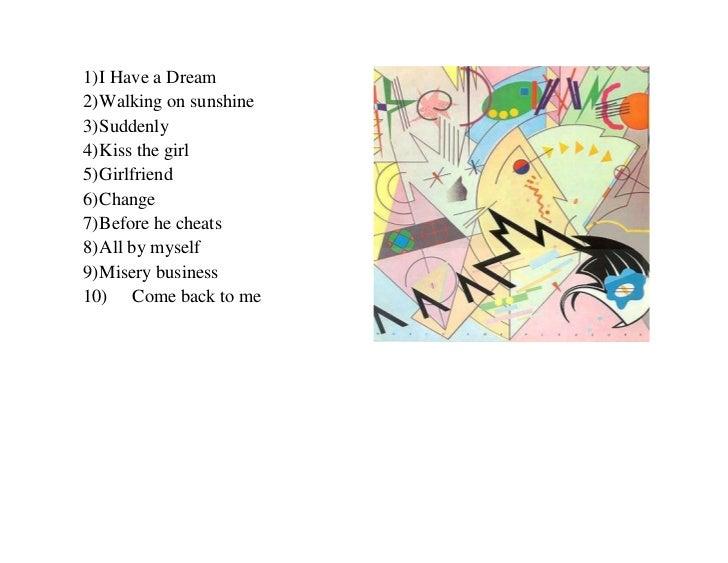 <ul><li>I Have a Dream