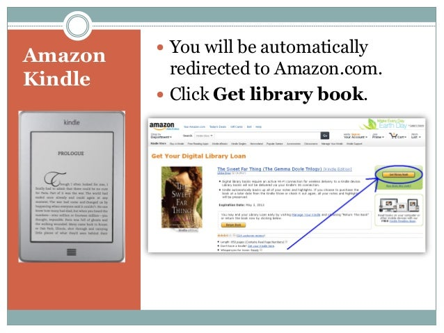 how to download library books to kindle