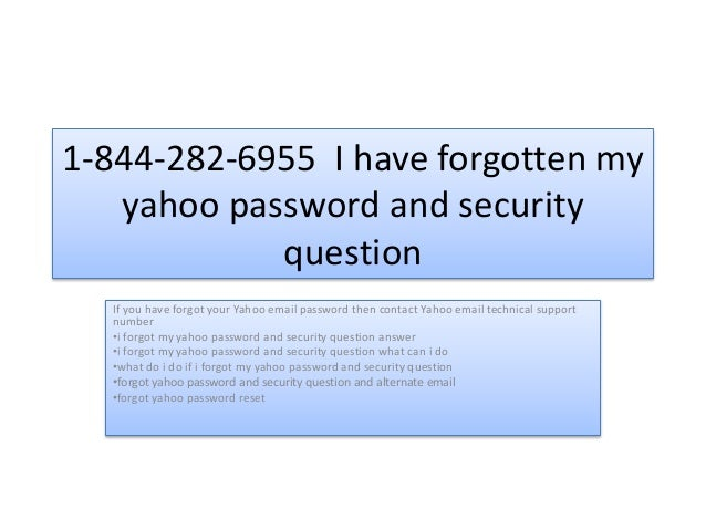 What do i do if i forgot my password