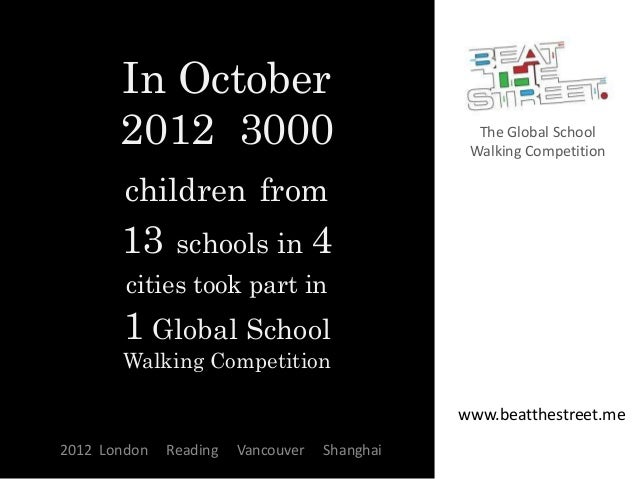 In October       2012 3000                                 The Global School                                              ...