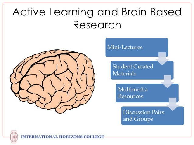 research paper on brain-based learning This paper explores the potential of how can brain research inform academic learning and educational neuroscience brain-based learning brain research.