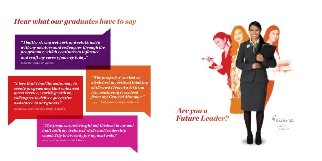IHG Future Leaders AMEA 2016 Brochure