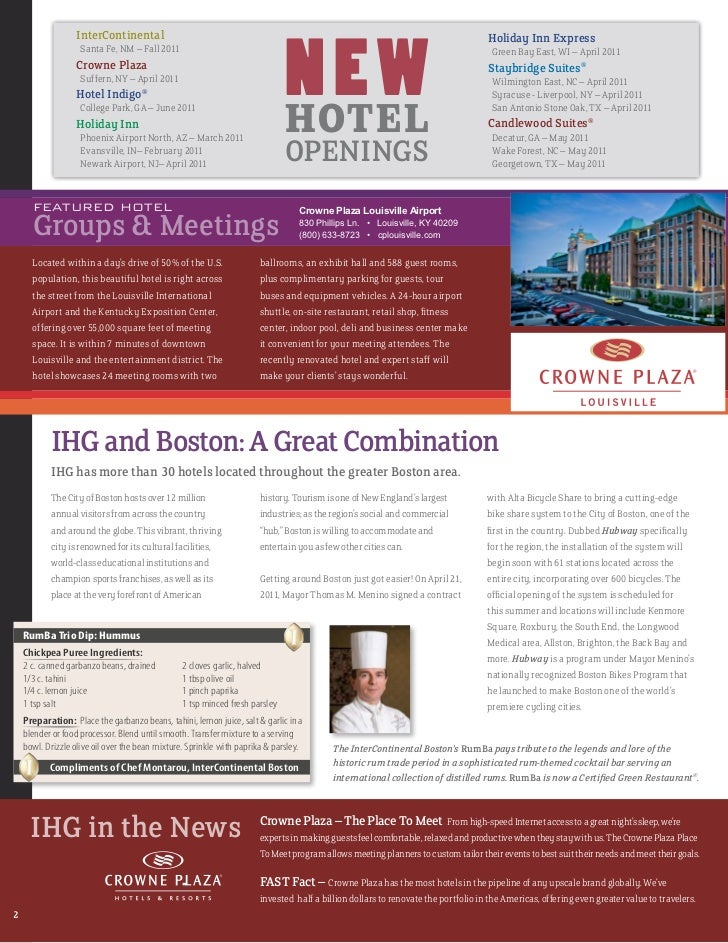 Ihg Impressions Q3 Travel Agent Newsletter