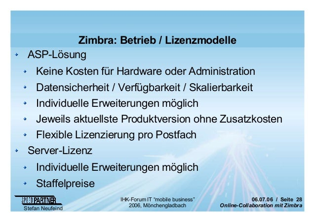 online collaboration mit zimbra. Black Bedroom Furniture Sets. Home Design Ideas