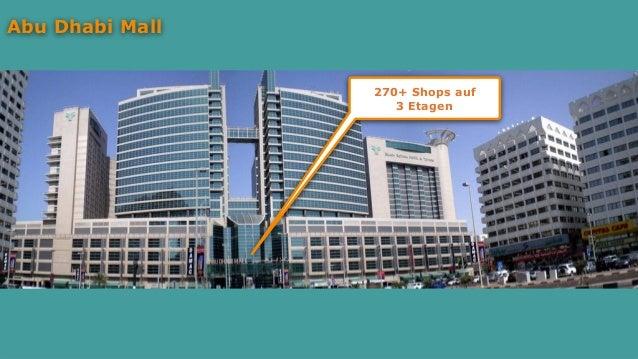 Abu Dhabi Mall 270+ Shops auf 3 Etagen