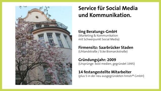 seit 12/2016: hmstr GmbH