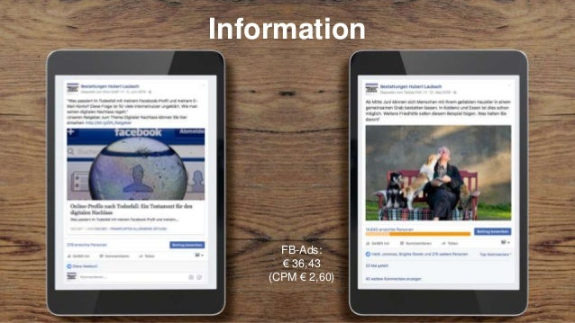 Wie bringen wir unsere Facebook-Fans zu uns ins Institut?