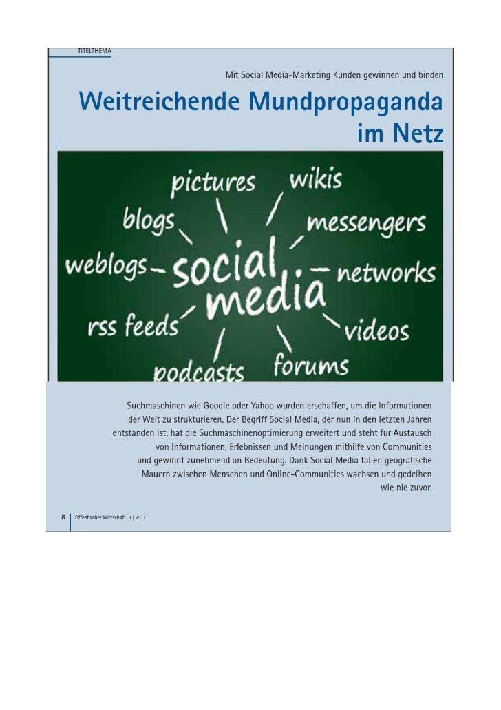 SmartSocial - IHK Artikel über Social Media