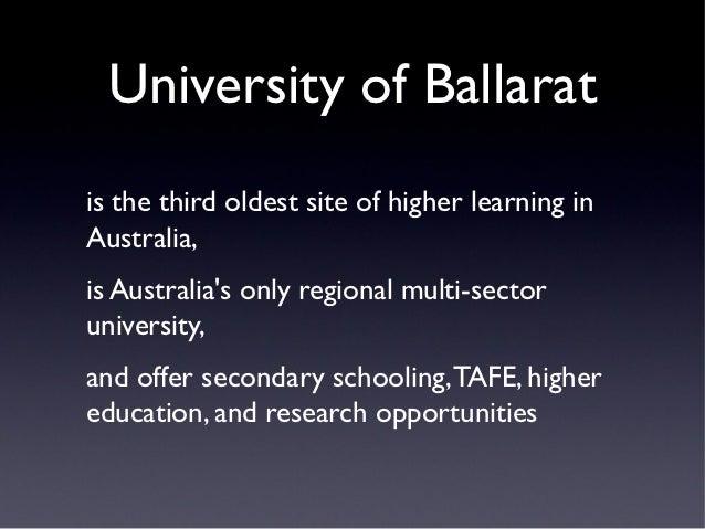 The Victorian Regional Dual-Sector University Partnership - Todd Walk…