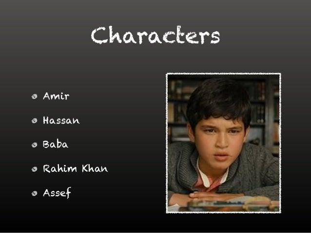 rahim khan and amir relationship poems