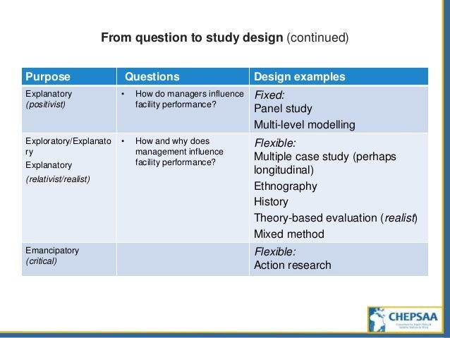 Quasi longitudinal study examples