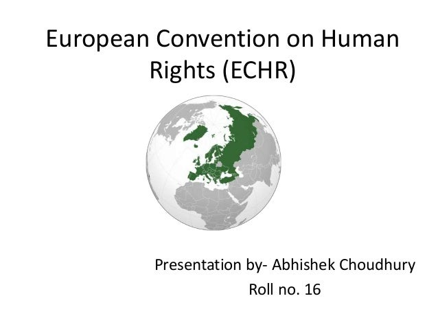 european convention on human rights pdf