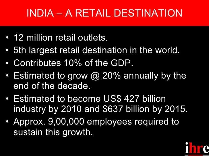 IHRE Retail Education Slide 2