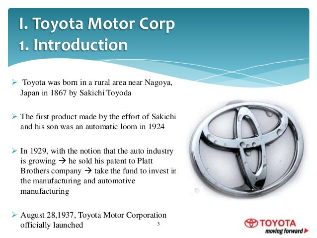 toyota introduction ppt