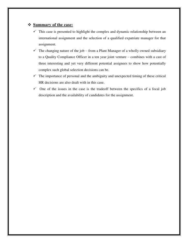 ihrm quality compliance at the hawthorne Case study quality compliance hawthorn arms case study: quality compliance at the hawthorn arms case study with 4 pages in pdf format titled: case study: quality compliance at the hawthorn arms.