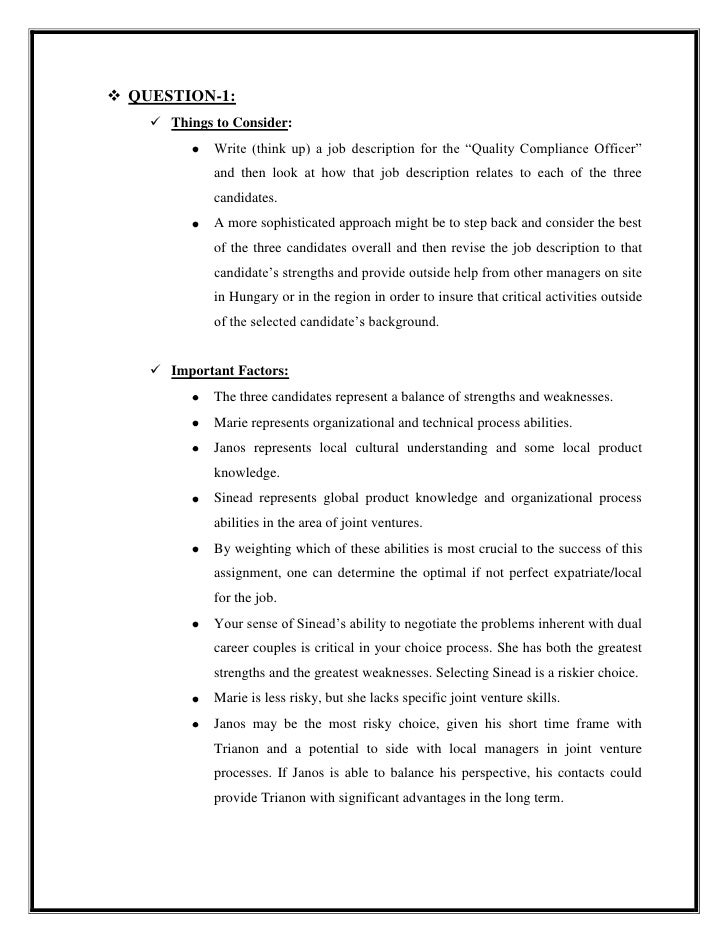Ihrm quality compliance at the hawthorne arms page 296 - Compliance officer job description ...