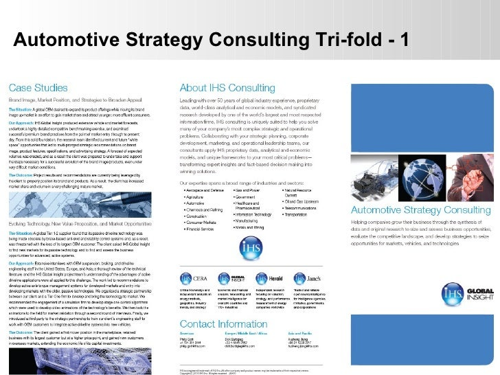 Automotive Strategy Consulting Tri-fold - 1