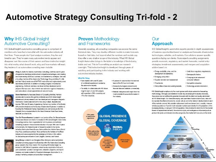 Automotive Strategy Consulting Tri-fold - 2