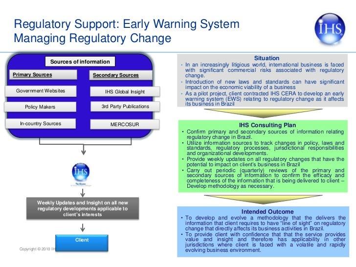 Business and Operational Challenges:Managing Regulatory Risks<br />Understanding the Regulatory Process<br /><ul><li>What ...